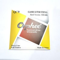 Senar Gitar Klasik Nylon Orphee QC9 Hard Tension 028 Original import