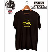 Kaos Baju Minion Bike Sepeda Lipat Seli Kaos Olahraga Sport - Gilan