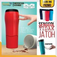 Termos Anti Tumpah Senggol Mighty Mug Tumbler Botol Minum 500ml B06 - Random