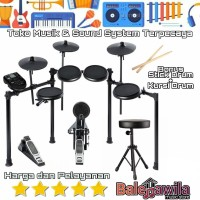 Drum Electric Kit Set ALESIS NITRO Mesh Kit Bonus KICK dan Bergaransi