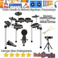 Drum Electric Kit Set ALESIS SURGE Mesh Kit Bonus KICK dan Bergaransi