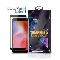 Tempered Glass Xiaomi Redmi 6 / 6A Full Cover Black - Glass Pro