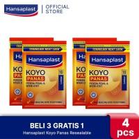 BELI 3 GRATIS 1 Hansaplast Koyo Panas Resealable 10's