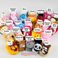 Sepatu Bayi Bulu Newborn Happy Baby Seri Karakter Khusus Untuk Beli 2
