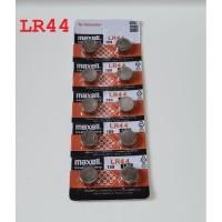 Baterai Kancing Button Cell Micro Alkaline Cell Maxell LR44 LR 44 AG13