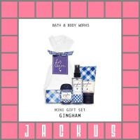 Terlaris Bath & Body Works Gingham Mini Gift Set
