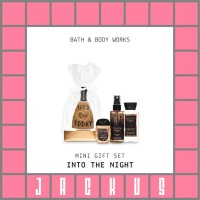 Terlaris Bath & Body Works Into The Night Mini Gift Set