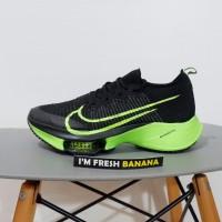 Sepatu Running Nike Air Zoom Pegasus Tempo Alphafly Next % Black Green