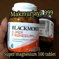 Super magnesium + Blackmores super calcium magnesium plus