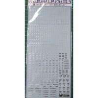 Gaia 1/100 Silver Decal - Gundam Model Kit Tool
