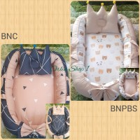 Babynest kasur bayi free bantal mahkota / Baby nest tempat tidur bayi