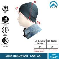 XABA Headwear - kupluk - tutup kepala - alas kepala - alas helm sepeda