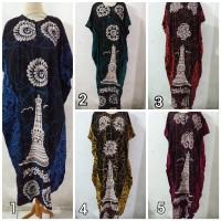 Daster/Longdress Kelelawar Jumbo Motif Batik Tugu (Ada Reseting)
