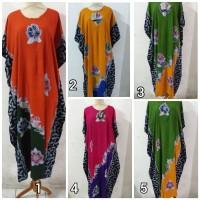 Daster/Longdress Kelelawar Jumbo Batik Cap Kombinasi (Ada Reseleting)