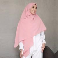 Jilbab Segi Empat Instan Syari - Hijab Segiempat Jumbo 150x150 cm