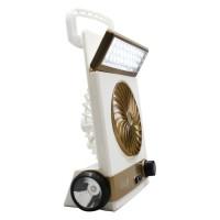 Lampu kipas angin emergency tenaga matahari surya solar darurat 30 LED