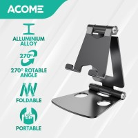 ACOME Phone Holder Tablet iPad iPhone Android Still Alluminium Alloy