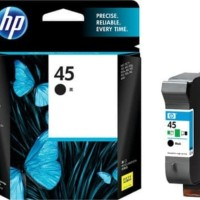 tinta cartridge hp 45 black original printer 712, 720, 722, 820, 830