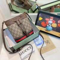 Tas Gucci Neo Ophidia Bucket Fullset / gucci serut - Import Quality