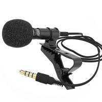 Microphone Mic Mini Jepit 3.5mm