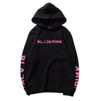 sweter hoodie/sweter anak/sweter Black pink /jaket anak tanggung