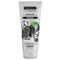 Freeman Detoxifying Charcoal + Black Sugar Mud Mask (175ML)