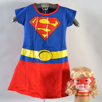 Baju Kostum Anak Cewek Supergirl - 4