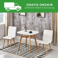 HANNOVER DINING TABLE - MEJA MAKAN - MDF