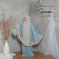 [ TMT ] MUKENA RAYON JUMBO RENDA SHIREEN - Abu Semen