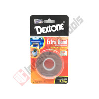 DEXTONE Extra Bond OUTDOOR MERAH 2 Meter Double Nano Tape Abu