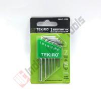 TEKIRO HK-EL1198 KUNCI L ELEKTRONIK Set 7 Pcs - Hex Key Set Elektro