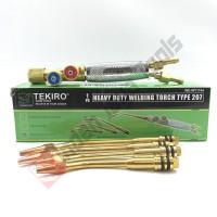 TEKIRO type 207 Welding Torch - Brander Blender Blander Las