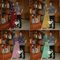 cp ramashinta 21 - couple gamis batik