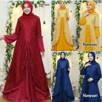gamis nareswari 21 - maxi dress - pakaian muslim wanita