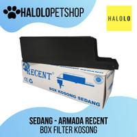 Box Filter Kosong ukuran Sedang Merk Armada atau Recent