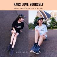 BAJU KAOS LOVE YOURSELF X BTS | KAOS BTS