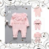ID Kirim dalam 12 jamBaju bayi perempuan jumper jumpsuit romper lengan