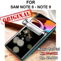 Anti Spy Samsung Note 8 - Note 9 privacy anti gores full hp HYDROGEL