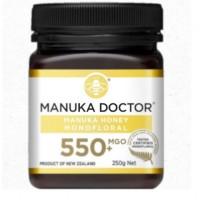 Manuka Doctor Manuka Honey MGO 550 250gr