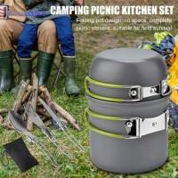 Set Alat Masak Portable untuk Camping/Outdoor