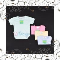 ID HAYAYO 1 Pcs Baju Kodok Segitiga Jumper Bayi Baby Warna 0-3M Perlen