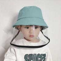 Children's Caps Protective Fisherman Hat Corona Face Neck Cap
