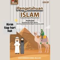 FLASH CARD Pengetahuan Islam Konsep Kartu Pintar Mainan Edukasi Anak