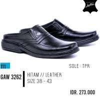 ORI GARSEL sepatu sandal bustong pria bustong pria kulit ori GAW 3262