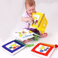 Baby Cloth Books Science and Education Enlightenment Palm Book