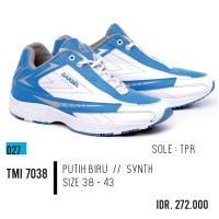 ORI GARSEL Sport shoes sepatu lari badminton olahraga pria TMI 7038