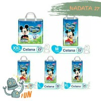 Mamypoko extra dry pants Mickey Mouse M32 M 32 L30 L 30 XL26 XL 26