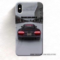 Casing HP iPhone Xs Max 7 Plus audi r8 (12) 11 Pro case