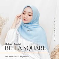 Hijab Segi Empat - Turqish   Kerudung Polos   Hijab Bella Instan