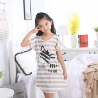 Milk Silk Gadis Tidur Rok Anak-anak piyama Kartun Princess Pajamas